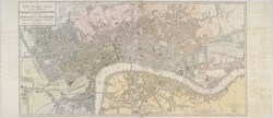 A NEW POCKET PLAN OF THE CITIES OF LONDON & WESTMINSTER WITH THE BOROUGH OF SOUTHWARK